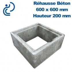 Rehausse Béton 60x60 (intérieur) hauteur 20