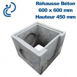 Rehausse Béton 60x60 (intérieur) hauteur 45
