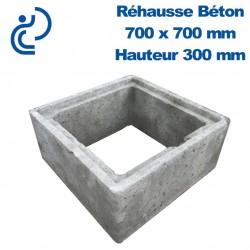 Rehausse Béton 70x70 (intérieur) hauteur 30
