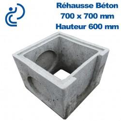 Rehausse Béton 70x70 (intérieur) hauteur 60