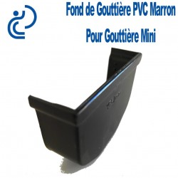 fond de gouttiere MINI MARRON