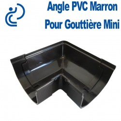 ANGLE DE GOUTTIERE MINI MARRON à coller