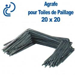 AGRAFE POUR TOILE DE PAILLAGE 20X20mm