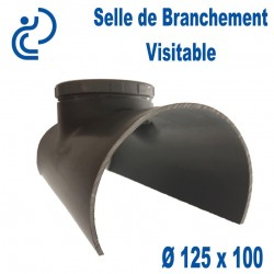 Selle de Branchement PVC Visitable 125x100
