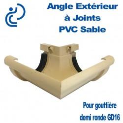 ANGLE EXTERIEUR A JOINTS EN PVC SABLE POUR GD16