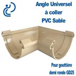 ANGLE UNIVERSEL PVC SABLE POUR GD25