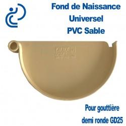 FOND DE NAISSANCE UNIVERSEL EN PVC SABLE POUR GD25