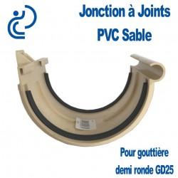 JONCTION PVC SABLE A JOINT POUR GOUTTIERE GD25