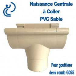 NAISSANCE CENTRALE A COLLER EN PVC SABLE POUR GD25