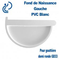 FOND DE NAISSANCE GAUCHE EN PVC BLANC POUR GD33