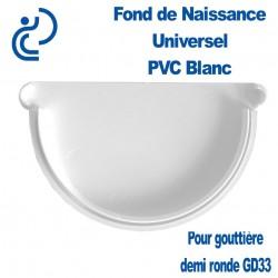 FOND DE NAISSANCE UNIVERSEL EN PVC BLANC POUR GD33