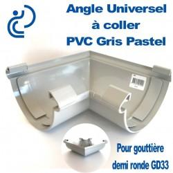Angle Universel en PVC gris pastel à Coller pour GD33
