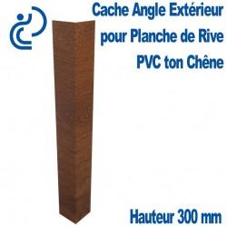 CACHE ANGLE EXT CHENE H300 pour planche de rive