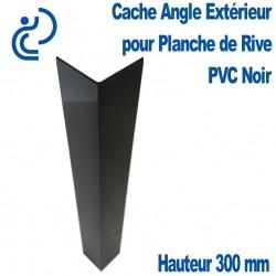 CACHE ANGLE EXT noir H300 pour planche de rive