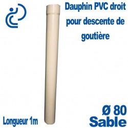 Dauphin PVC Droit sable D80 1ml