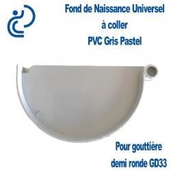 FOND DE NAISSANCE UNIVERSEL EN PVC GRIS PASTEL POUR GD33