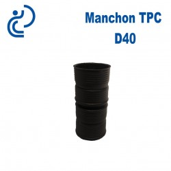 Manchon TPC Noir D40
