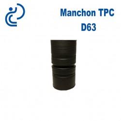Manchon TPC Noir D63