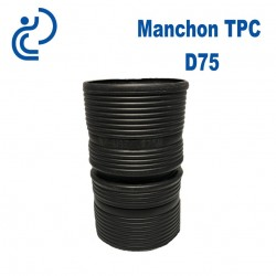 Manchon TPC Noir D75