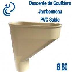 Jambonneau PVC sable D80