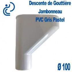 Jambonneau PVC gris pastel D100