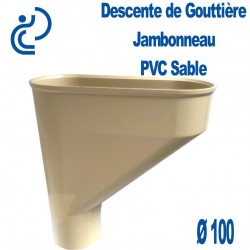 Jambonneau PVC sable D100