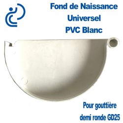 FOND DE NAISSANCE UNIVERSEL EN PVC BLANC POUR GD25
