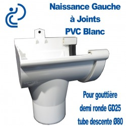NAISSANCE GAUCHE A JOINT EN PVC