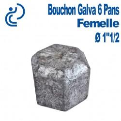 "Bouchon Galva 6 PANS Femelle 1""1/2"