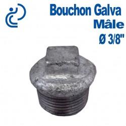 """Bouchon Galva Mâle 3/8"""""""