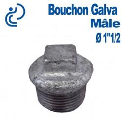 """Bouchon Galva Mâle 1""""1/2"""