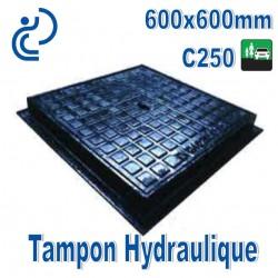Tampon Hydraulique en Fonte 600x600mm C250