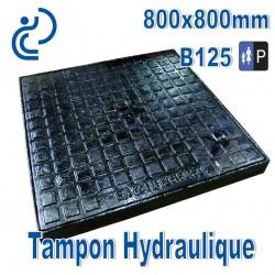 Tampon Hydraulique en Fonte 800x800mm B125