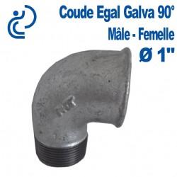 """COUDE GALVA 90° 1"""" MF"""