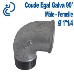"""COUDE GALVA 90° 1""""1/4 MF"""