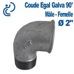 """COUDE GALVA 90° 2"""" MF"""
