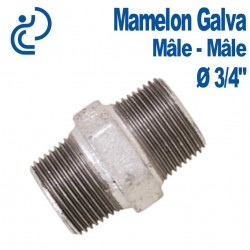 "MAMELON EGAL GALVA 3/4"" MM"