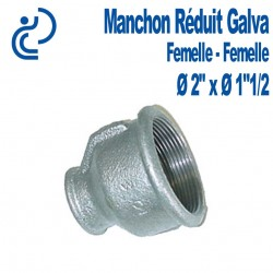 "MANCHON REDUIT GALVA 2""x1""1/2 FF"