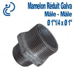 "MAMELON REDUIT 1""1/4 X 1"" GALVA MM"