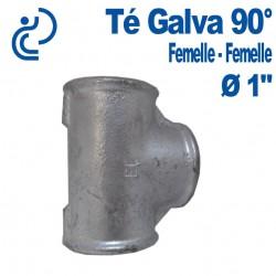 """TE GALVA 90° 1"""" FF"""