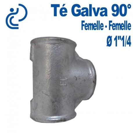 """TE GALVA 90° 1""""1/4 FF"""