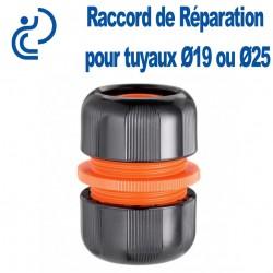 Raccord de jonction pour tuyaux d'arrosage D19 ou D25