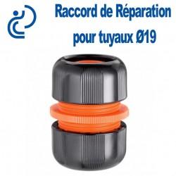 Raccord de Réparation (jonction compression) pour tuyaux d'arrosage Ø19