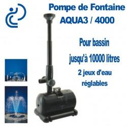 Pompe de fontaine pour Bassin d'agrément AQUA3/4000