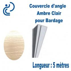 Couvercle d'angle Coordonné Pour bardage Ambre longueur 5ml