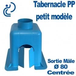 Tabernacle Centré Petit Modèle Mâle en Polypropylène bleu