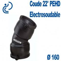 Coude 22° Electrosoudable Ø160
