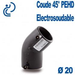 Coude 45° Electrosoudable Ø20