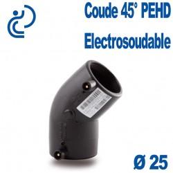 Coude 45° Electrosoudable Ø25