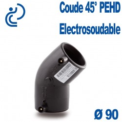 Coude 45° Electrosoudable Ø90